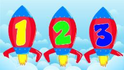 Rocket numbers | Learn numbers from 1 to 10
