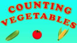 Counting Vegetable | Counting numbers from 1 to 6