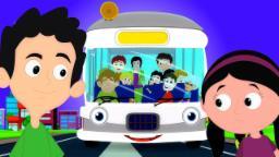 Ruedas En El Autobús | canciones para niños | Rimas infantiles | Nursery Rhymes | Wheels On The Bus