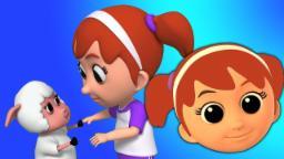 María tuvo un pequeño cordero | canciones infantiles | Nursery Rhymes | Mary Had A Little Lamb