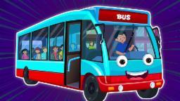 Ruedas en el autobús | Cartoon para los niños | compilación | Populares de la poesía infantil