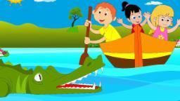 fila fila riga la tua barca | filastrocche | capretti canzoni | Kids Songs | Row Row Row Your Boat