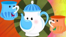 ich bin wenig Teekanne | Reime für Kinder | Kinder Lieder | Poem For Children | I Am A Little Teapot