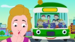 Roues sur le bus | Rimes pour enfants | garderie Chanson | Rhymes For Kids | Wheels on the Bus