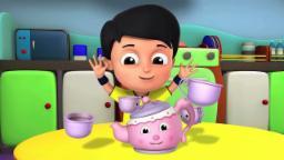 Je suis une petite théière | comptines pour les enfants | Nursery Rhymes | I am a Little Teapot
