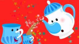ich bin eine kleine Teekanne | Reime für Kinder | Baby Reime | Kids Music | I am a Little Teapot