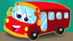 Räder auf dem Bus | Kinderzimmerreim | Kids Song | Nursery Rhyme For Kids | Wheels on the Bus