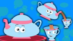 Ich bin eine kleine teekanne | Kinder Song | Baby Reim | I Am A Little Teapot | Rhyme For Kids