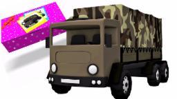 Toy Box Unboxing - Tentara Truk | militer Truk | Mainan Anak-Anak truk | Kompilasi | Army Truck Toy