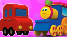 Bob Transportasi Melatih | Kartun 3D untuk anak-anak | pendidikan Video | Bob Transport Train