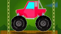 escenas peligrosas monster truck | vídeo popular For Kids | compilación | Monster Truck Stunts
