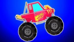 Monster Truck 'garaje de coches'   compilación   video educativo   vídeos populares