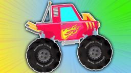 acrobacias monster truck | niños compilación de | niños videos | Monster Truck Stunts