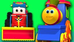 Bob, kereta | bob transportasi kereta petualangan | bob kereta lagu kompilasi