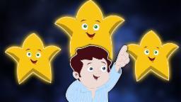 Twinkle Twinkle piccola stella | Cartoon per i bambini | Popolare Filastrocca