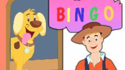 Bingo Dog Song | bingo chanson de chien pour les enfants | enfants rime chansons