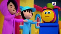 bob the train | i hear thunder | nursery rhymes | kids songs | 3d rhymes | childrens rhymes