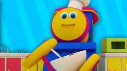 bob the train | let's bake song | original song | nursery rhymes | 3d rhymes