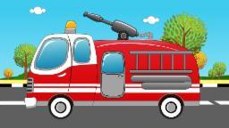 пожарная машина и огонь | FireTruck and Fire