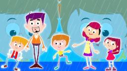 Дождь Дождь Уходи | Мультфильм для детей | Компиляция |  детского стишка | Rain Rain Go Away