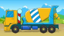 Бетономешалка грузовик | Cement Mixer Truck