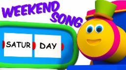 Bob The Train | Weekend Song | 3D Nursery Rhymes For Kids And Childrens