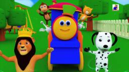 Bob The Train | If You Are Happy And You Know It | 3D Nursery Rhymes For Childrens | Kids Songs