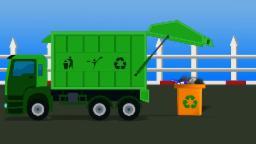 Мусоровоз | Развивающий мультик | Garbage Truck