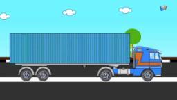 Мультики про машинки | использует грузовик | Uses of Truck