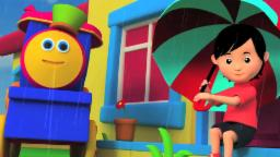 Bob The Train | Rain Rain Go Away | Nursery Rhymes For Childrens | Songs With Bob