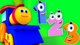Bob The Train | Adventure with Numbers | Learn Numbers For Kids