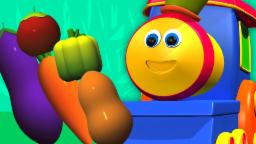 Bob The Train | Vegetables Train | Food Song For Toddlers