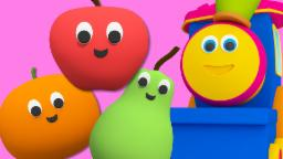 Bob The Train | Fruits Train | Fruits Songs For Children And Toddler