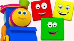Bob The Train | Colors Train | Learn Colors | Color Song For Childrens