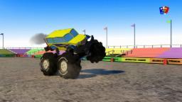 монстр грузовик желтый| Monster Truck yellow