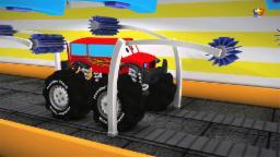 монстр грузовик Автомойка 3D | Monster Truck Car wash 3D