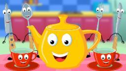I am a Little Teapot Nursery Rhyme