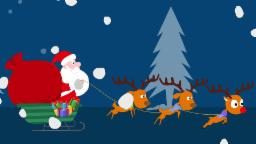 Rudolph, the red nose reindeer   Christmas Song   Rhymes