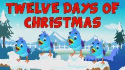 สิบวันคริสต์มาส | เพลงคริสต์มาส | สุขสันต์วันคริสต์มาส | Twelve Days of Christmas