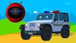ตำรวจ รถจี๊ป | tảrwc rt̄h cī́ p | Zobic Police Jeep