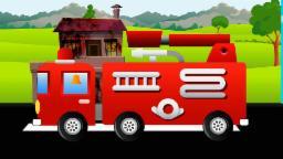 รถดับเพลิง และไฟ | Rt̄h dạb pheling læa fị | FireTruck and fire