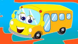 Rodas no ônibus | Rima para crianças | Nursery Rhyme | Songs For Kids | Wheels On The Bus