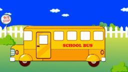 l'autobus scolaire | un dessin animé pour les enfants | School Bus