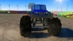 quái vật xe tải pha nguy hiểm | Monster Truck Stunts