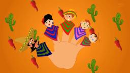 Mexican Finger Family | Songs And Video | Nursery Rhyme For Children