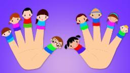 Ten Little Fingers Nursery Rhymes   Finger Family Song For Kids