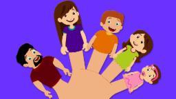 Finger Family Rhyme with Lyrics