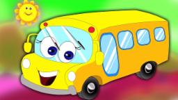 Räder auf dem Bus | Bus lied für Kinder | Rhyme For Kids | Song For Kids | Wheels on the Bus