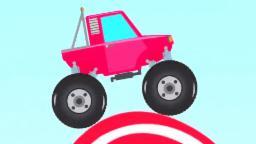 trucos de camiones monstruo | camiones monstruo | Monster Truck Stunts | Kids Videos