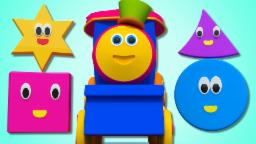 Bob The Train | Shapes Song For Childrens | Learn Shapes With Bob